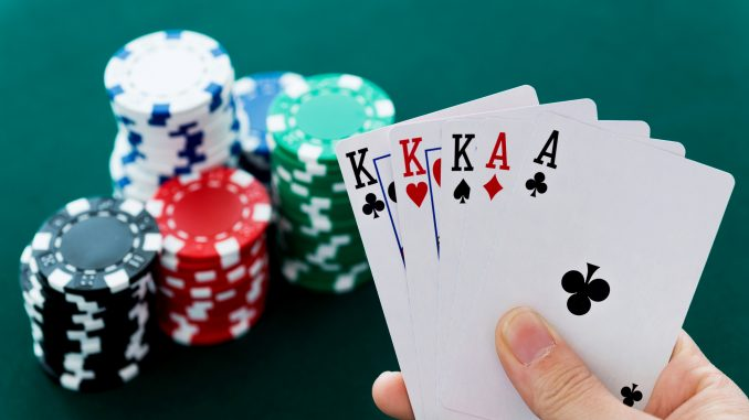 Pro Casino Poker Athletes Are Betting With Their Lives Obtain Back To The Table